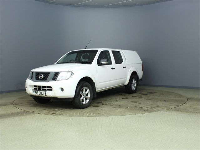 NISSAN NAVARA DCI 144 VISIA 4X4 DOUBLE CAB WITH TRUCKMAN TOP - 7405 - 6