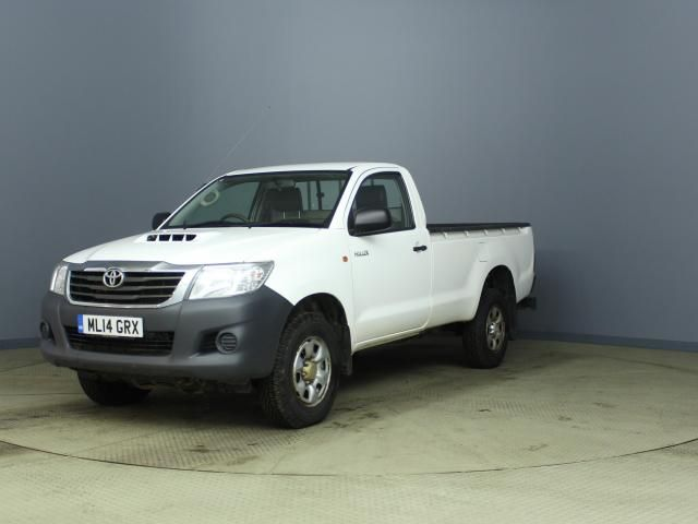 TOYOTA HI-LUX ACTIVE 4X4 D-4D SINGLE CAB - 6348 - 1