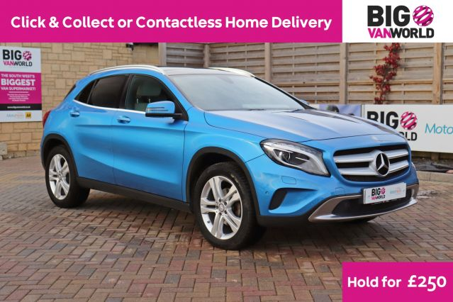 Used MERCEDES GLA-CLASS in Used Cars Swindon for sale