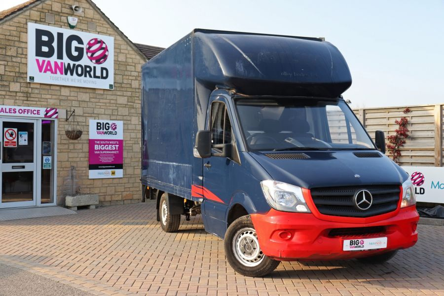 MERCEDES SPRINTER 313 CDI 129 MWB LUTON WITH TAIL LIFT - 12154 - 5