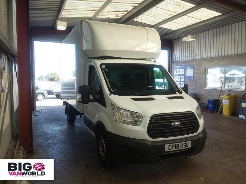 FORD TRANSIT 350 TDCI 130 L4 'ONE STOP' LUTON WITH TAIL LIFT - 10128 - 1