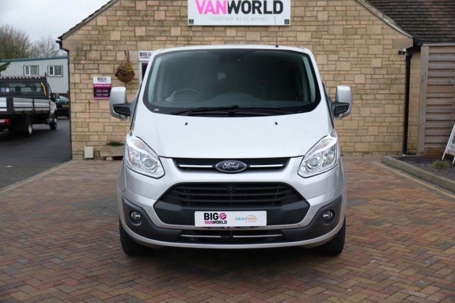 FORD TRANSIT CUSTOM 310 TDCI 130 L2H1 LIMITED DOUBLE CAB 6 SEAT CREW VAN  LWB LOW ROOF FWD  - 9968 - 10