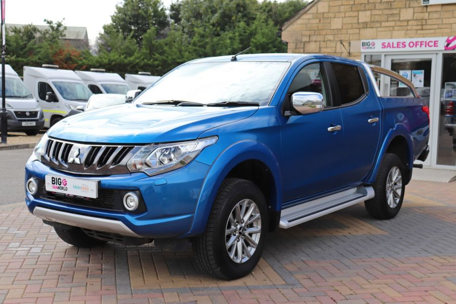 MITSUBISHI L200 DI-D 178 4WD WARRIOR DOUBLE CAB WITH ROLL'N'LOCK TOP - 11123 - 10