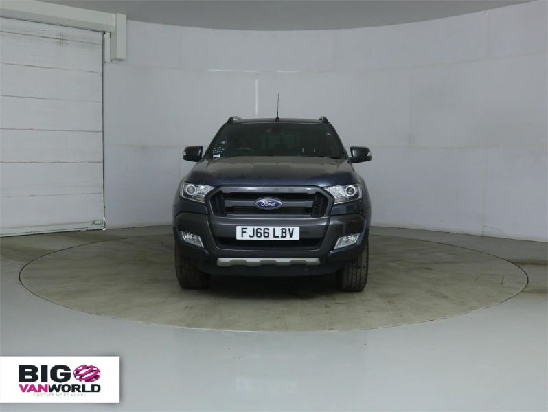 FORD RANGER WILDTRAK TDCI 200 4X4 DOUBLE CAB WITH TRUCKMAN TOP - 8963 - 6