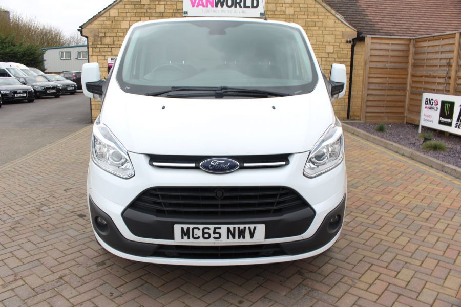 FORD TRANSIT CUSTOM 330 TDCI 125 L1 H1 LIMITED SWB LOW ROOF FWD - 9004 - 9