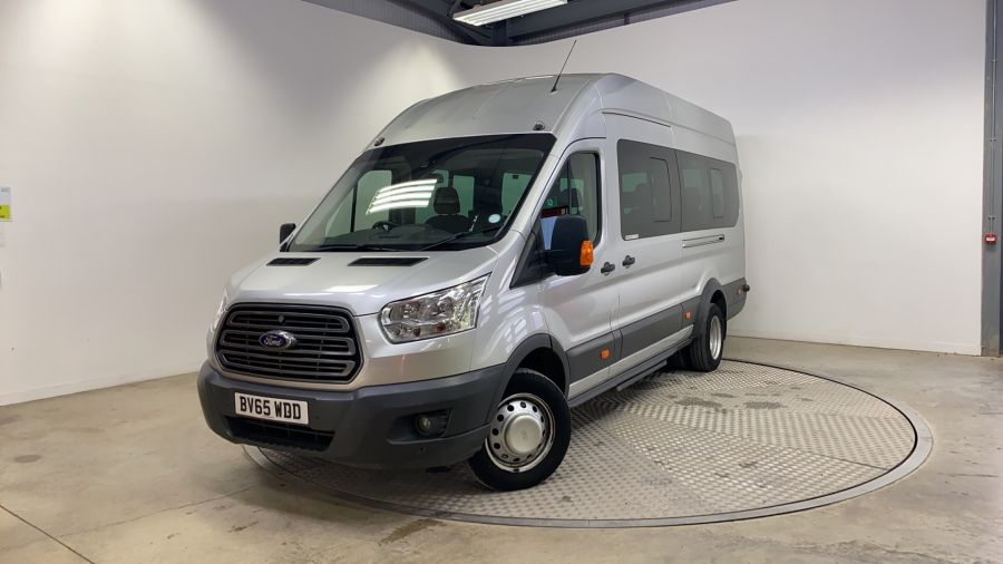 FORD TRANSIT 460 TDCI 155 L4H3 TREND 17 SEAT BUS HIGH ROOF DRW RWD - 11312 - 1