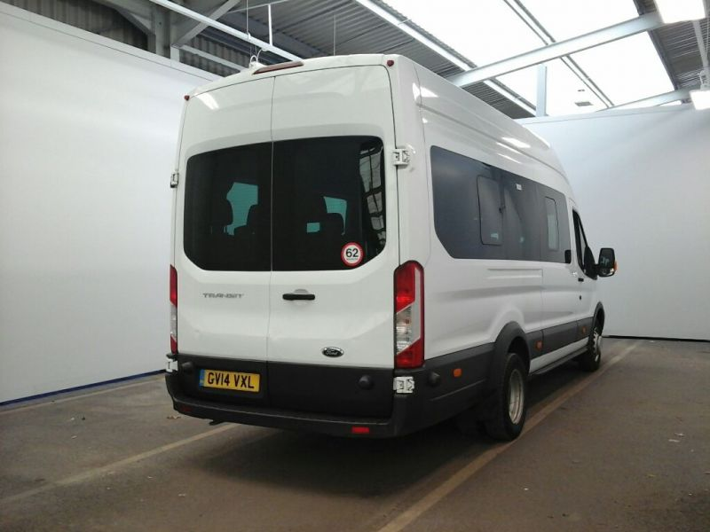 FORD TRANSIT 460 TDCI 125 L4H3 TREND 17 SEAT BUS HIGH ROOF DRW RWD - 10018 - 2