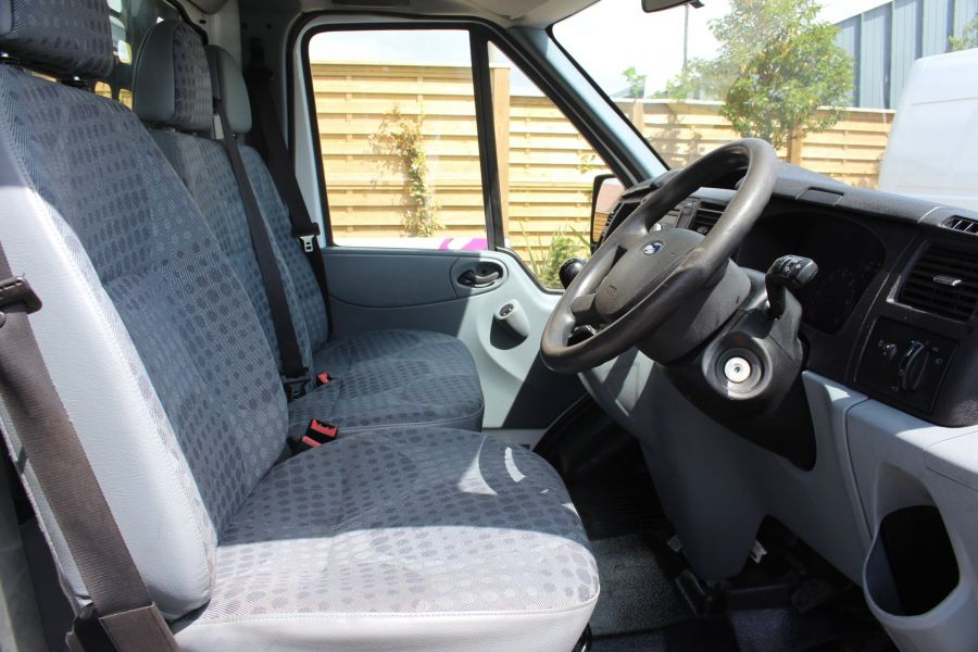 FORD TRANSIT 350 TDCI 155 LWB SINGLE CAB 'ONE STOP' 12FT 6IN ALLOY DROPSIDE RWD - 6220 - 11
