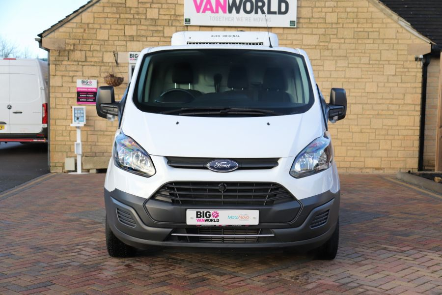 FORD TRANSIT CUSTOM 270 TDCI 105 L1H1 SWB LOW ROOF FRIDGE VAN WITH OVERNIGHT FWD - 11587 - 13