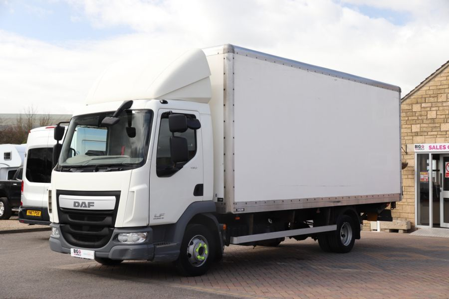 DAF TRUCKS LF LF 150 FA LF 150 FA 20Ft BOX WITH TAIL LIFT  (13928) - 12204 - 11