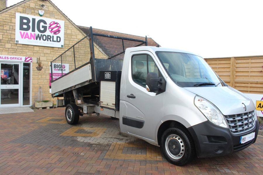 RENAULT MASTER LL35 DCI 125 LWB CAGED ALLOY TIPPER WITH SEPERATE TOOLBOX - 7124 - 2