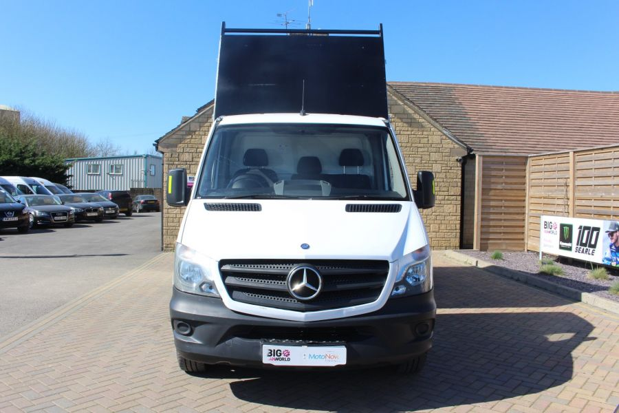 MERCEDES SPRINTER 313 CDI 129 MWB SINGLE CAB NEW BUILD ARBORIST ALLOY TIPPER - 9307 - 8