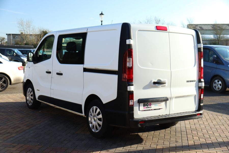 RENAULT TRAFIC SL27 DCI 115 BUSINESS SWB DOUBLE CAB 6 SEAT CREW VAN LOW ROOF  - 10282 - 7