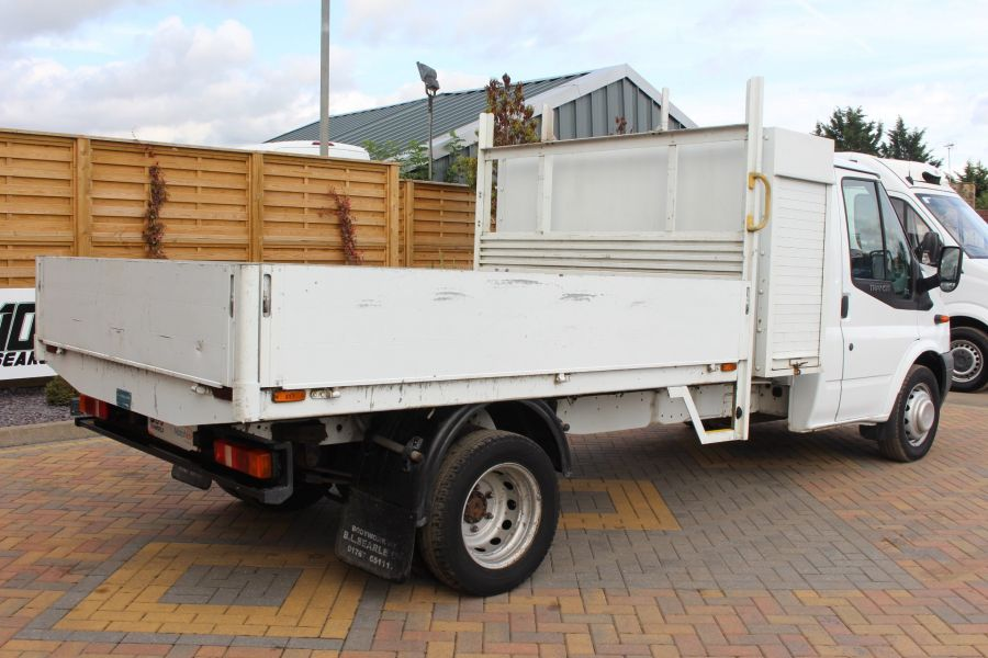 FORD TRANSIT 350 TDCI 100 LWB ALLOY DROPSIDE WITH TOOL BOX DRW - 6528 - 5