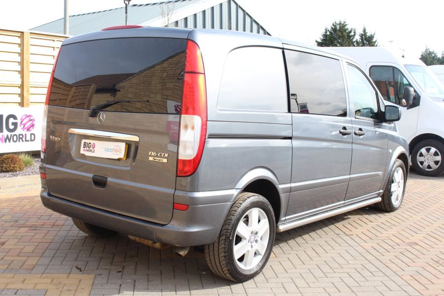 MERCEDES VITO 116 CDI 163 DUALINER COMPACT SPORT SPECIAL EDITION 5 SEAT CREW VAN - 7444 - 5