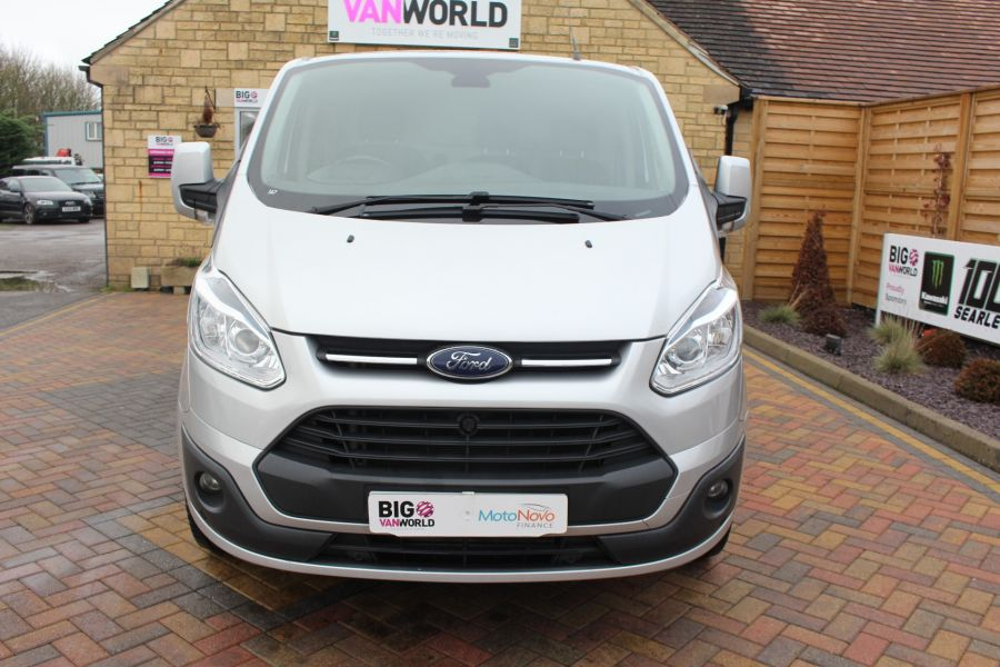 FORD TRANSIT CUSTOM 270 TDCI 125 L1 H1 LIMITED SWB LOW ROOF FWD - 7142 - 9