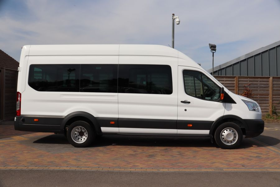 FORD TRANSIT 460 TDCI 125 L4H3 TREND 17 SEAT BUS HIGH ROOF DRW RWD - 10326 - 5