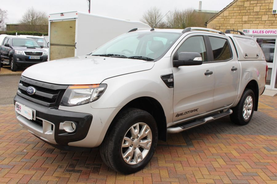 FORD RANGER WILDTRAK 4X4 TDCI 197 DOUBLE CAB WITH TRUCKMAN TOP - 7516 - 8