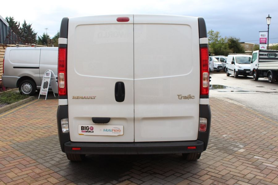 RENAULT TRAFIC LL29 DCI 115 L2 H1 DOUBLE CAB LWB CREW VAN - 6787 - 6