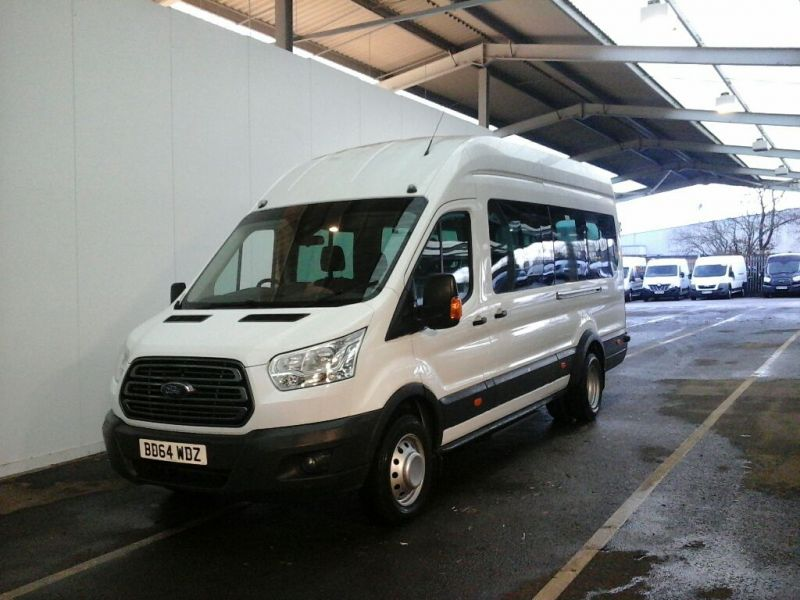 FORD TRANSIT 460 TDCI 125 L4H3 TREND 17 SEAT HIGH ROOF BUS DRW RWD - 10348 - 1