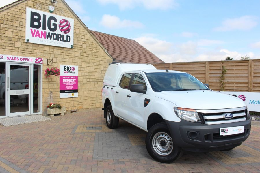 FORD RANGER TDCI 130 XL 4X4 DOUBLE CAB WITH TRUCKMAN TOP - 8119 - 2