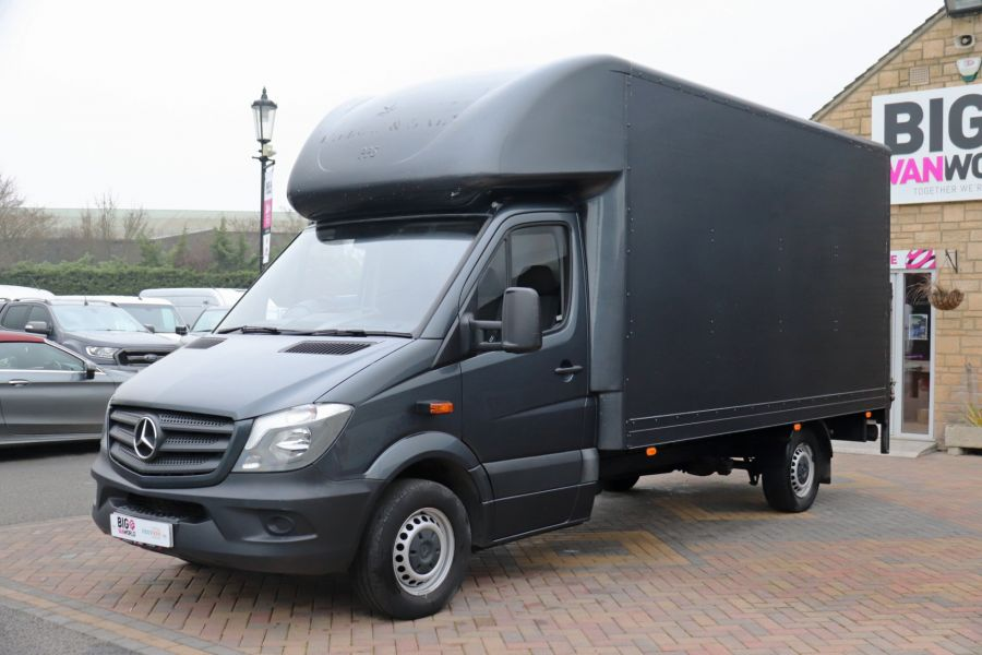 MERCEDES SPRINTER 314 CDI 140 LWB LUTON WITH TAIL LIFT - 11407 - 9