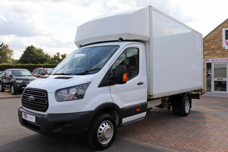 FORD TRANSIT 350 TDCI 170 L4 'ONE STOP' LUTON WITH TAIL LIFT DRW RWD  - 9531 - 9