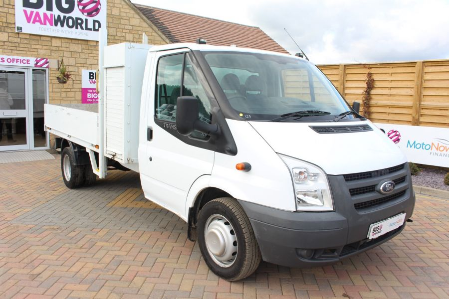 FORD TRANSIT 350 TDCI 100 LWB ALLOY DROPSIDE WITH TOOL BOX DRW - 6528 - 3