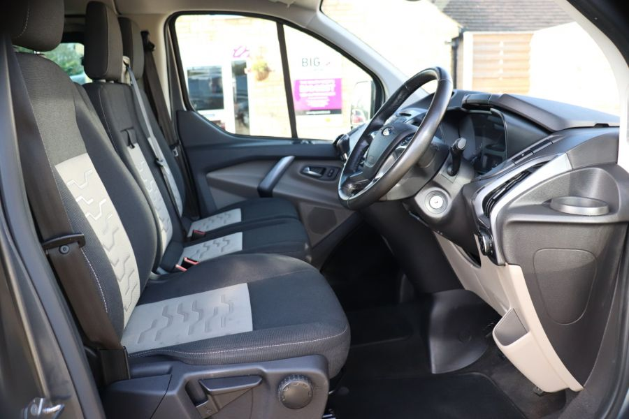 FORD TRANSIT CUSTOM 290 TDCI 130 L1H1 LIMITED DOUBLE CAB 6 SEAT CREW VAN SWB LOW ROOF - 10123 - 13