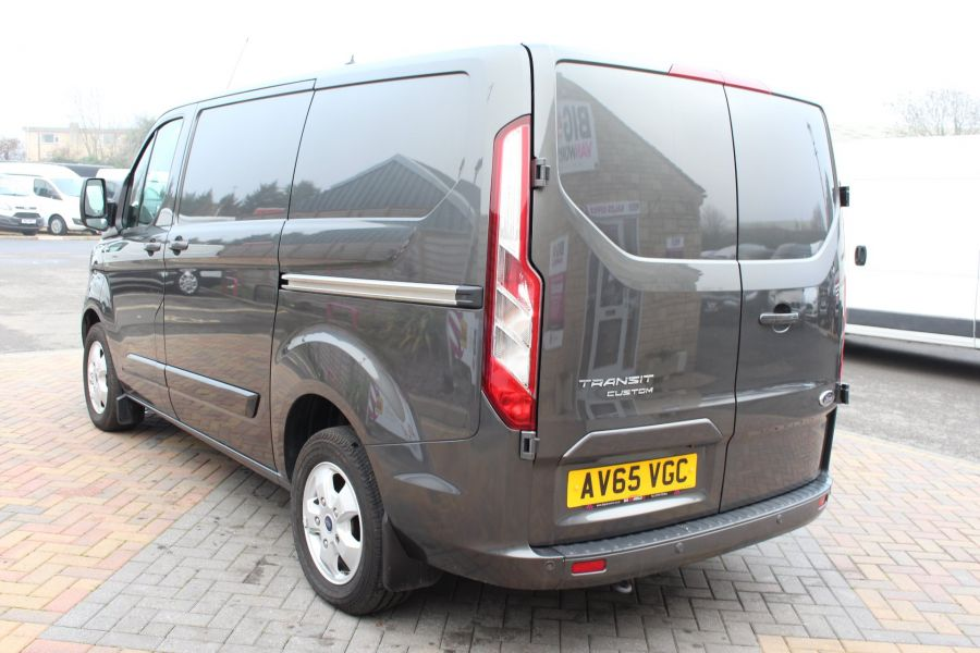 FORD TRANSIT CUSTOM 270 TDCI 125 L1 H1 LIMITED SWB LOW ROOF - 8050 - 7