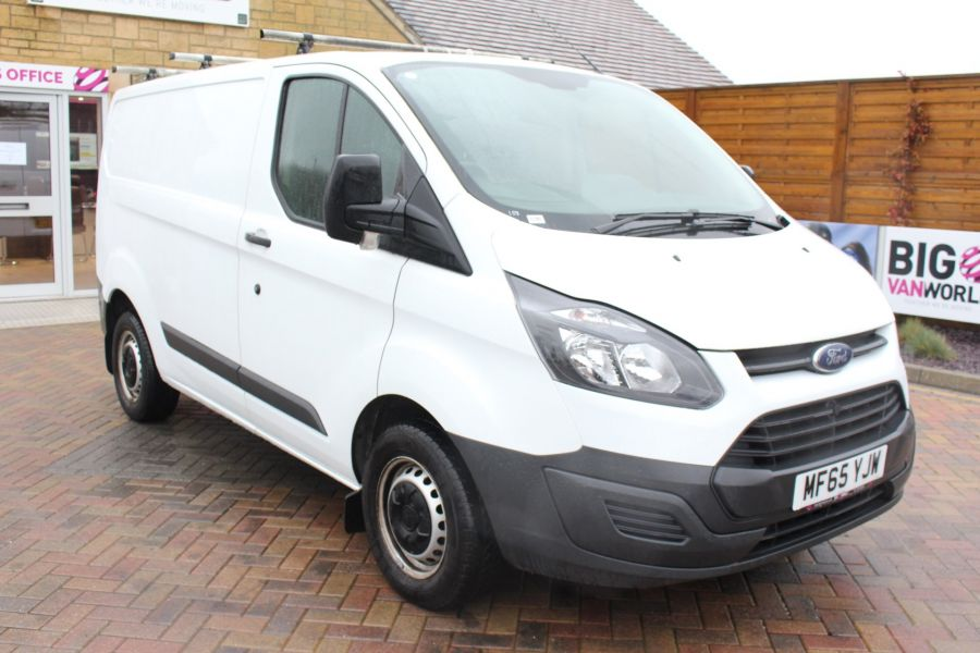 FORD TRANSIT CUSTOM 270 TDCI 125 L1 H1 SWB LOW ROOF FWD - 8450 - 1