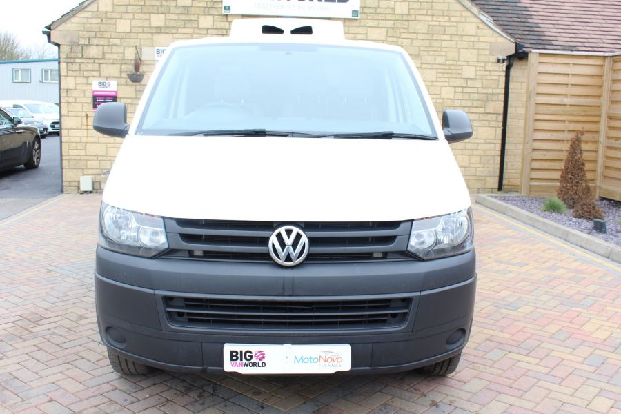 VOLKSWAGEN TRANSPORTER T26 TDI 84 STARTLINE SWB LOW ROOF FRIDGE VAN - 7334 - 9