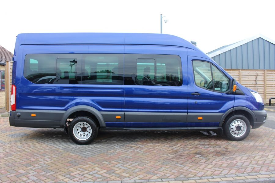 FORD TRANSIT 460 TDCI 125 TREND L4 HIGH ROOF 17 SEAT BUS - 8546 - 4