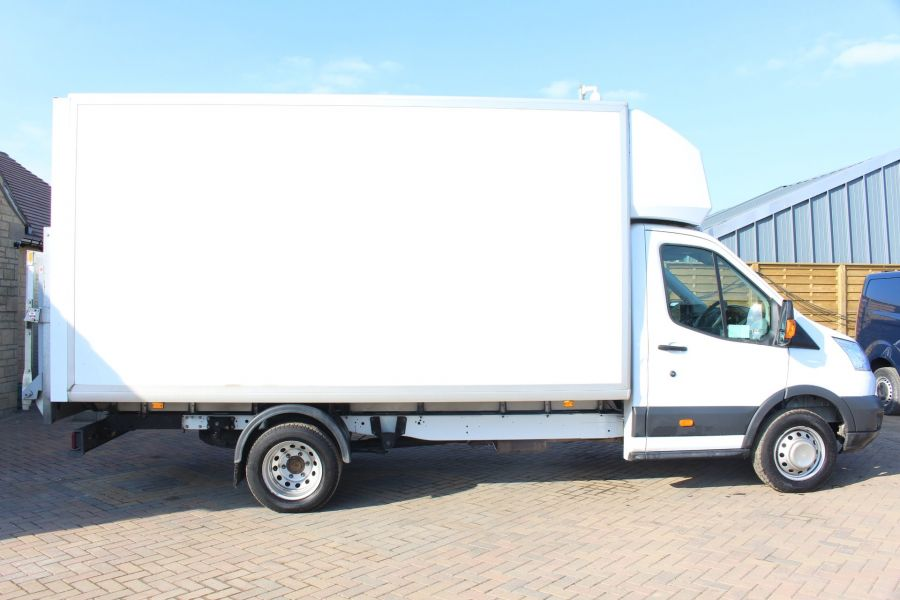 FORD TRANSIT 350 TDCI 125 DRW L4 LUTON WITH TAIL LIFT - 5940 - 2