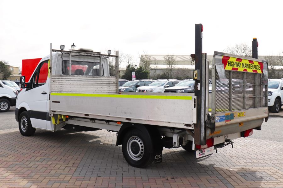 MERCEDES SPRINTER 314 CDI 140 LWB SINGLE CAB ALLOY DROPSIDE WITH TAIL LIFT  (14002) - 12361 - 10