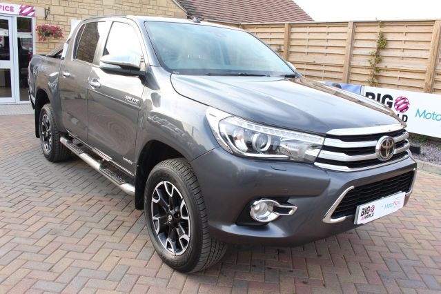 Used TOYOTA HI-LUX in Used Vans Swindon for sale