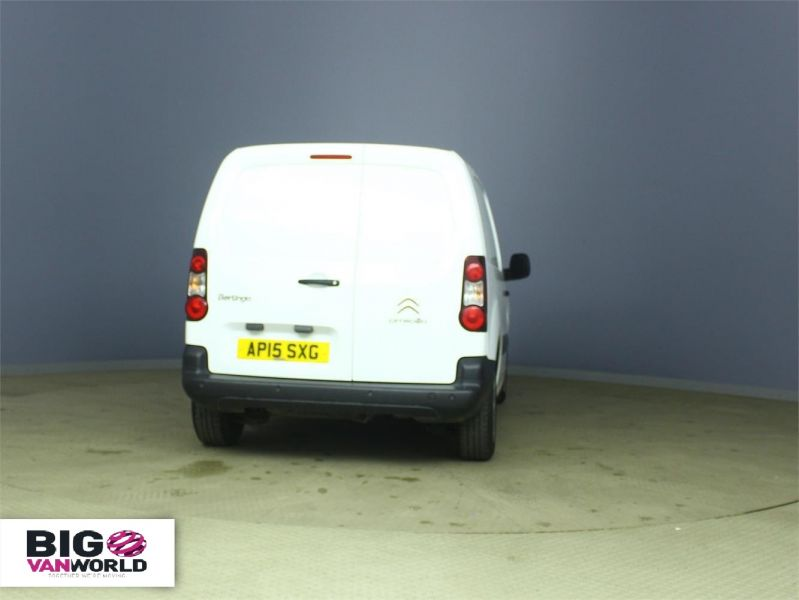 CITROEN BERLINGO 625 HDI 75 L1 H1 ENTERPRISE SWB LOW ROOF - 6663 - 3