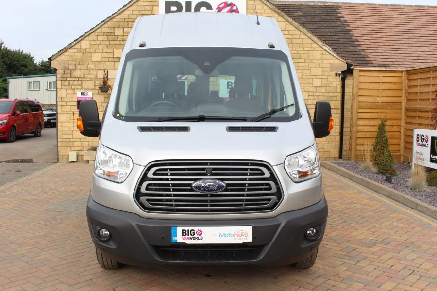 FORD TRANSIT 460 TDCI 125 L4 H3 TREND LWB HIGH ROOF 17 SEAT BUS RWD - 6563 - 9