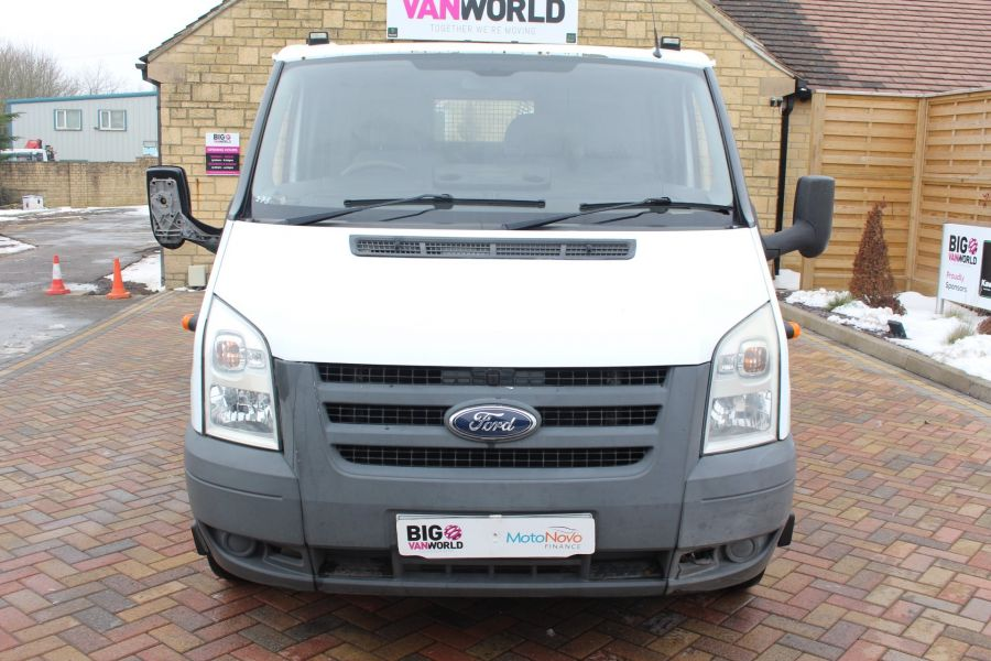 FORD TRANSIT 350 TDCI 110 LWB DOUBLE CAB HIGH SIDED ARBORIST TIPPER - 7454 - 16