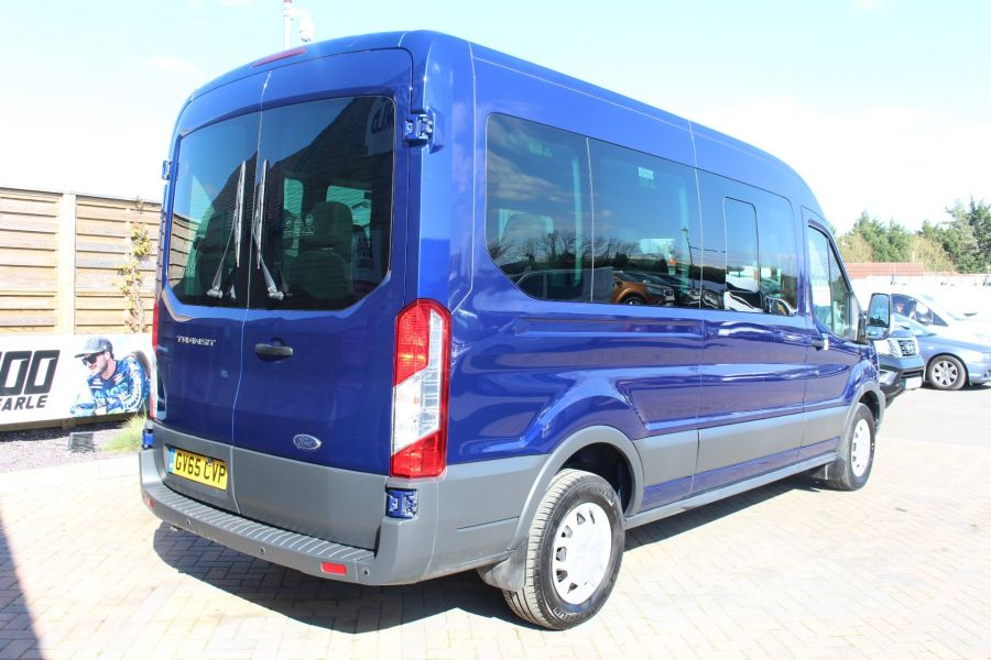 FORD TRANSIT 410 TDCI 125 L3 H2 TREND 15 SEAT BUS LWB MEDIUM ROOF RWD - 9007 - 5