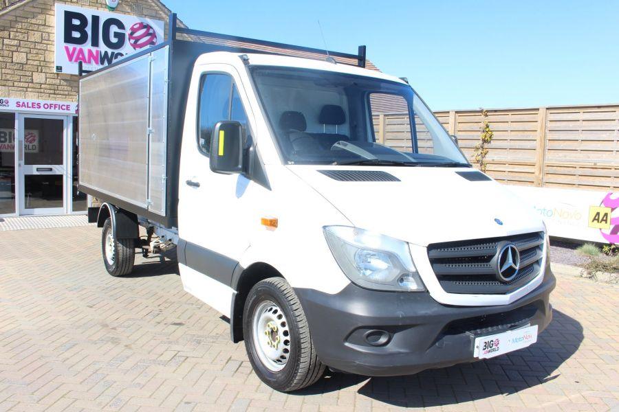 MERCEDES SPRINTER 313 CDI 129 MWB SINGLE CAB NEW BUILD ARBORIST ALLOY TIPPER - 9307 - 12