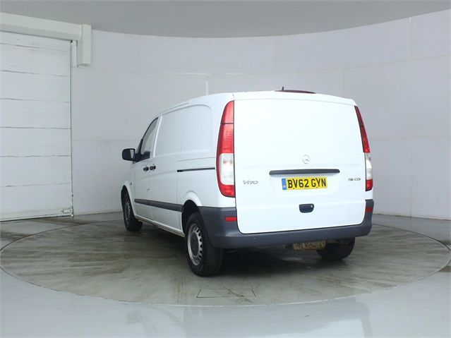 MERCEDES VITO 116 CDI 163 COMPACT SWB LOW ROOF - 7571 - 4