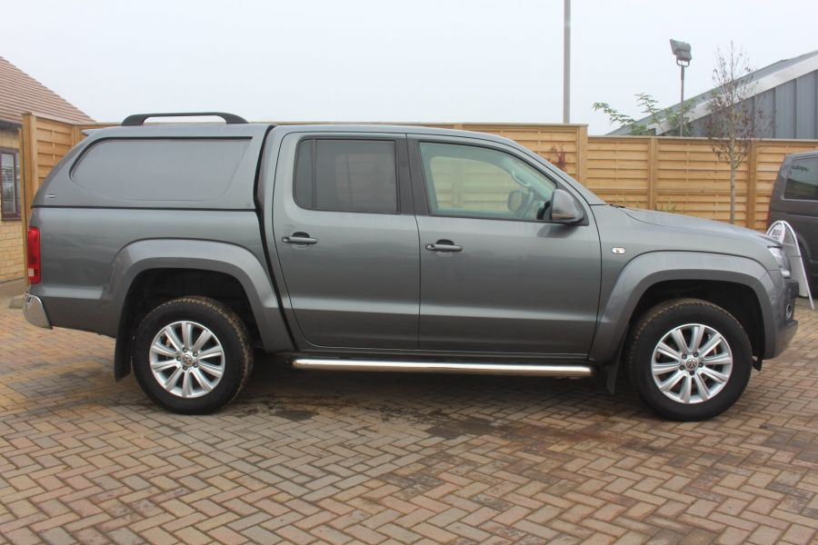 VOLKSWAGEN AMAROK TDI 180 HIGHLINE 4MOTION DOUBLE CAB WITH TRUCKMAN TOP AUTO - 6906 - 4