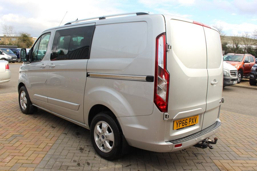 FORD TRANSIT CUSTOM 290 TDCI 170 L1 H1 LIMITED DOUBLE CAB 6 SEAT CREW VAN SWB LOW ROOF FWD  - 8973 - 7