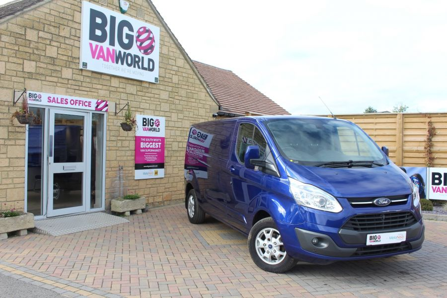 FORD TRANSIT CUSTOM 310 TDCI 155 L2 H1 LIMITED LWB LOW ROOF - 6620 - 1