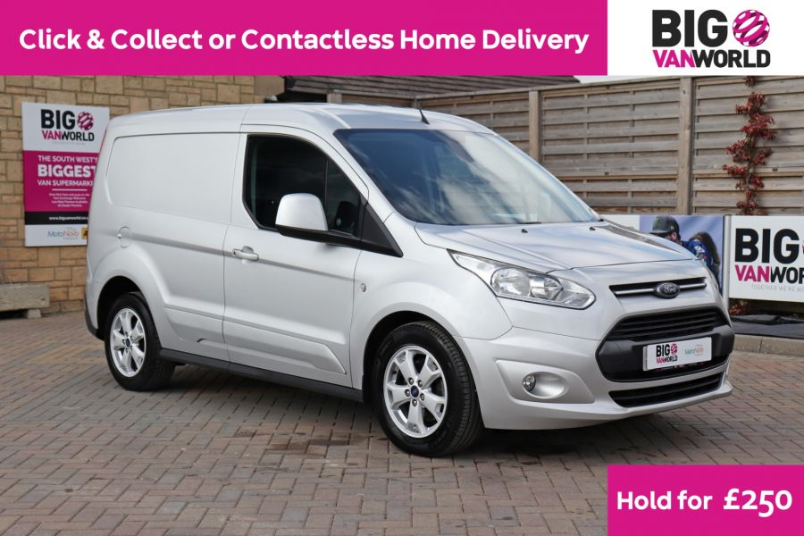 FORD TRANSIT CONNECT 200 TDCI 120 L1H1 LIMITED SWB LOW ROOF  (13867) - 12253 - 1