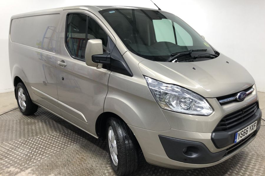 FORD TRANSIT CUSTOM 290 TDCI 170 L1H1 LIMITED SWB LOW ROOF FWD - 12194 - 5