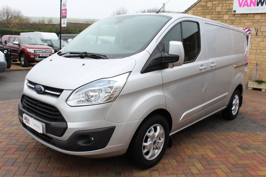 FORD TRANSIT CUSTOM 270 TDCI 155 LIMITED L1 H1 SWB LOW ROOF FWD - 8552 - 8