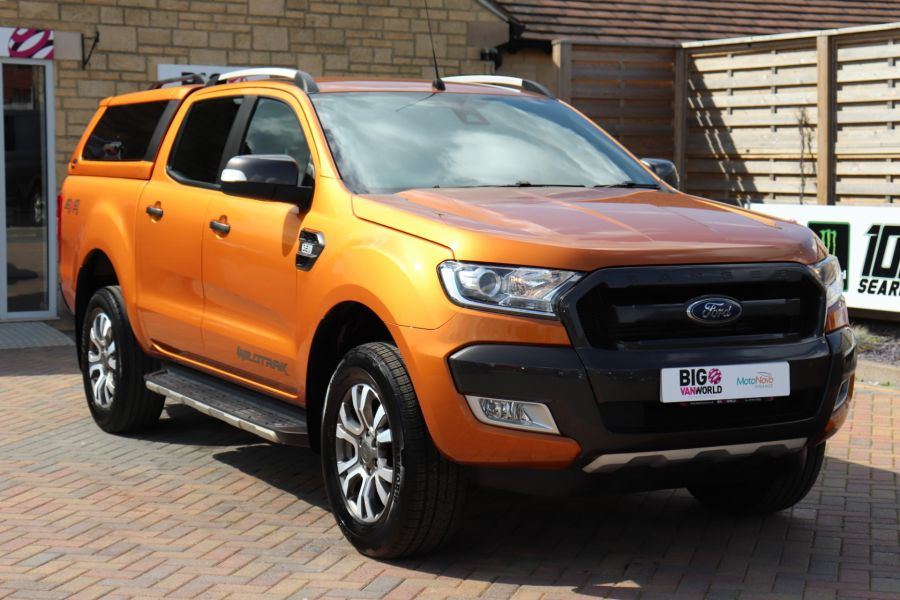 FORD RANGER WILDTRAK TDCI 200 4X4 DOUBLE CAB WITH TRUCKMAN TOP - 9538 - 3