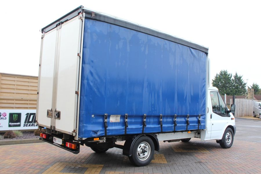 FORD TRANSIT 350 TDCI 125 LWB CURTAIN SIDE FWD - 6982 - 4